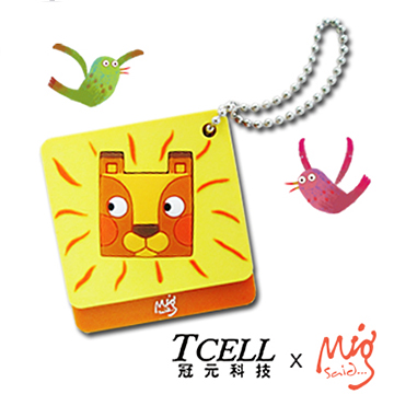 TCELL x Mig Said The Square-Head Lion